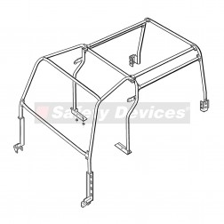 RBL1487SSS |  Defender 110  Safety Devices Roll Cage