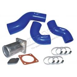 DA1109DEF | Def E.G.R Blanking & Kit tubo flessibile in silicone Defender Td5 Engine