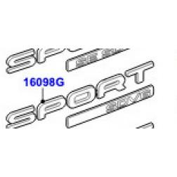 LR048877 | Sigla Rosso 3.0 V6 D Gen2 Twin Turbo, Stemma Sport, 3.0L 24V V6 Turbo Diesel Std Flow, 3.0 V6 D Low MT ROW