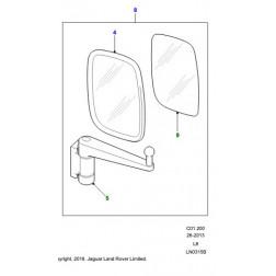 CRB503580 | Specchio Retrovis. Est. c. Braccio DESTRO