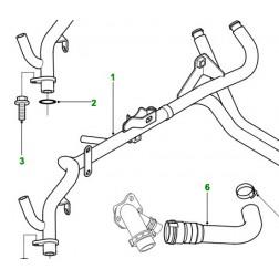 STC4537 | Gruppo tubo di refrigerazione Cambio manuale