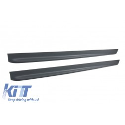 Side Skirts suitable for BMW E46 3 Series Coupe Cabrio (1998-2004) M3 M-TEchnik Design