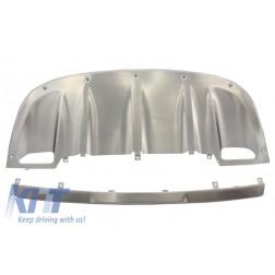 Skid Plates Bumper Guards Off Road suitable for PORSCHE Cayenne 958 (2011-2014)