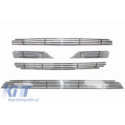 Central Grille & Lower Grille suitable for HYUNDAI Santa FE (2007-2009) Chrome