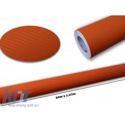 3d Carbon fiber film textured - car vinyl 30 meters