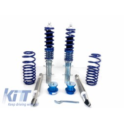 Adjustable Sport Coilovers Blueline suitable for VW Golf 3 III Vento Jetta III (1992-1998) Polo 6N (1994-2002) Seat Ibiza MK2 Cordoba MK1 (1993-2002)