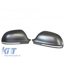 3M Adhesive Mirror caps covers suitable for AUDI A3 8P, A4 B8, A6 4F Facelift, A5 S5 RS5, A8