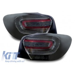 LED Tail Lights suitable for MERCEDES Benz A-Class W176 SMOKE