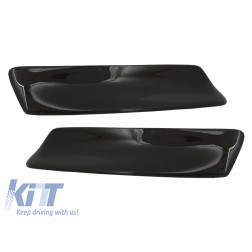 Front Bumper Splitters Spoiler suitable for BMW 3 Series E46 M3 Sedan Limousine Coupe Cabrio (1998-2004) Carbon CSL Design