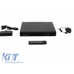 8 Channel DVR HD 1080P Analog White Longse
