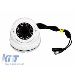 INTERIOR HD 180P Manual Zoom DOME CAMERA 2.1MP CMOS