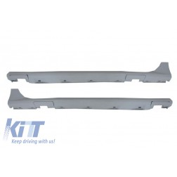 Side Skirts suitable for AUDI A7 4G (2011-2014) RS7 Design High Quality Polyurethane