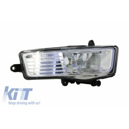 ONE PIECE - Fog Light Projector Right Side suitable for AUDI A6 4F 2008-2010 Clear Lens
