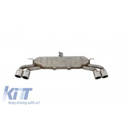 Complete Exhaust System suitable for AUDI A3 8V Hatchback / Sportback / Coupe (2012-2019) S3 Design