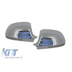 3M Adhesive Mirror Caps Covers Chrome suitable for AUDI A3 8P, A4 B8, A6 4F Facelift, A5 S5 RS5, A8