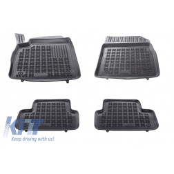 Floor mat Rubber Black suitable for OPEL Astra J 2010-2015