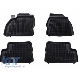 Floor mat Rubber Black suitable for OPEL Corsa D 2006-2014 /  suitable for OPEL Corsa E