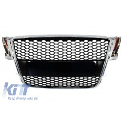 Badgeless Front Grille suitable for AUDI A5 8T (2007-2011) RS Design