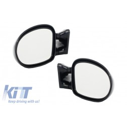 Universal Car Mirrors Door Mirrors M3 Style Manual Adjustment