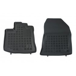 Floormat black front fits to/ suitable for DACIA Dokker Van2012-