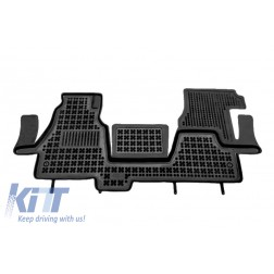 Floor mat black fits to/ suitable for MERCEDES Sprinter I 2000-2006