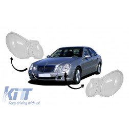 Headlights Glasses suitable for MERCEDES Benz E-class W211 (2002-2008)