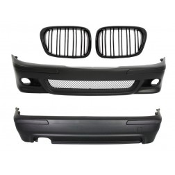 Body Kit suitable for BMW 5 Series  E39 (1997-2003) M5 Design with Central Grille Piano Black