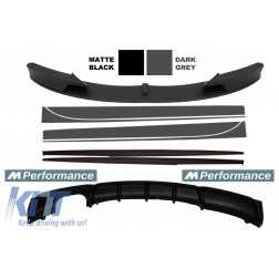 Add On Kit Extension Conversion to M-Performance Design suitable for BMW 3 Series F30/F31 (2011-) Sedan/Touring