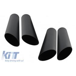 Exhaust Muffler Tips Black suitable for MERCEDES Benz W463 G500 G55 G63 G65 G-Calss (1998-up) B Design