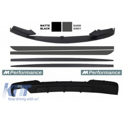 Add On Kit Extension Conversion to M-Performance Design suitable for BMW 5 Series F10 F11 (2011-2017) Sedan Touring