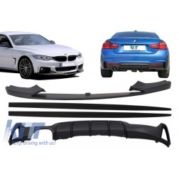 Add On Kit Extension Conversion Package to M Performance Design suitable for BMW F32 F33 F36 4 Series (2013-) Coupe Cabrio