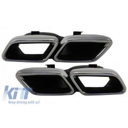 Exhaust Muffler Tips for Mercedes Benz C-Class W205 S205 C205 A205 GLE C292 E-Class W213 S-Class W222 GLE W166 GLC W253 X253 C253 C217 (2014-up) A-Design