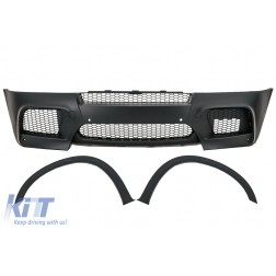 Front Bumper and Wheel Arches Fender Flares suitable for BMW X5 E70 (2007-2013) X5M M-Design