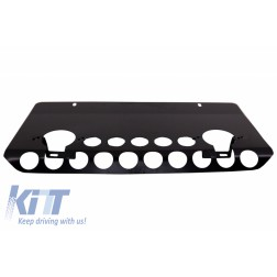 Front Bumper Skid Plate Off Road Package Under Run Protection suitable for MERCEDES Benz G-class W463 (1989-2017) A-Design Matte Black Edition