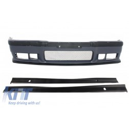 Front Bumper with Side Skirts suitable for BMW 3 Series E36 1992-1998 M3 Design