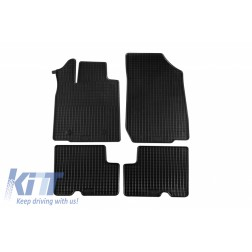 Floor Mat Rubber suitable for DACIA Duster 4x2  03/2010-12/2013, Duster 01/2014-12/2017, Duster 01/2018
