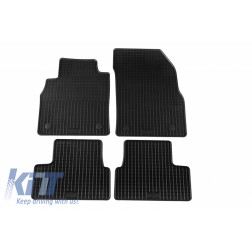 Floor Mat Rubber suitable for OPEL Astra J 11/2009-08/2015, Astra J Sports Tourer 11/2010-03/2016, Astra J GTC 11/2011, Cascada 04/2013