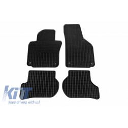 Floor Mat Rubber suitable for SKODA Octavia II Limousine ab06/2004-01/2013, Kombi 06/2004-05/2013