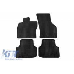Floor Mat Rubber suitable for SKODA Octavia III Limousine 02/2013m Kombi 05/2013, Octavia Scout 10/2014