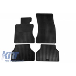 Floor Mat Rubber suitable for BMW 5er (E60) 06/2003-02/2010, Touring (E61) 2004-08/2010