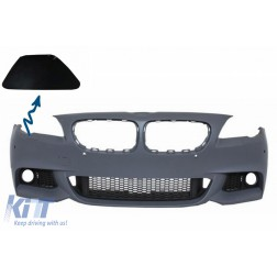 SRA Cover Right Side Front Bumper suitable for BMW 5er F10 F11 (2011-Up)