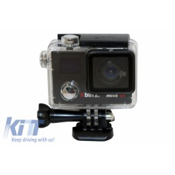 Xblitz Move Camera 4k Sport Camera Full HD 1920x1080P, 2 Inch Screen, 170 Degrees Lens, With Wi-Fi, Waterproof