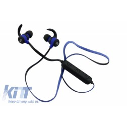 Xblitz Pure Wireless Bluetooth Headphones, Blue