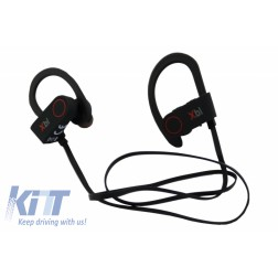 Xblitz Pure Sport Wireless Bluetooth Headphones, Black