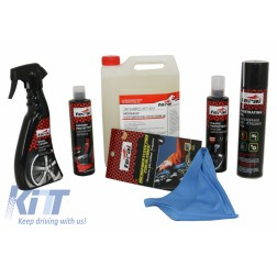 Premium Car Motorbikes Kit Cleaning / Maintenance Auto / Moto Interior - Exterior