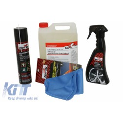 Premium Car Motorbikes Kit Cleaning / Maintenance Auto / Moto Exterior