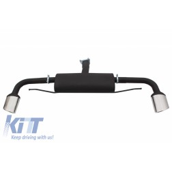 Complete Sport Muffler Exhaust System suitable for AUDI TT 8J Coupe (2006-2014)
