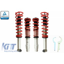 Height Adjustable Sport Coilover Suspension Kit suitable for BMW 5 Series E60 Limousine (2003-2011)