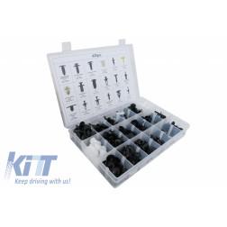 Auto Clips Plastic Fasteners Kit 425 pcs