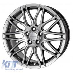 Alloy wheels ANZIO Challenge 16, 7, 5, 115, 38, 70.2, Sterling Silver,